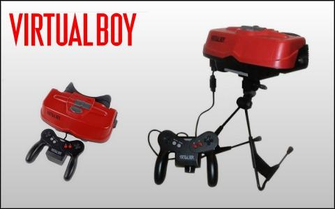 Recordamos a la Virtual Boy y a sus juegos