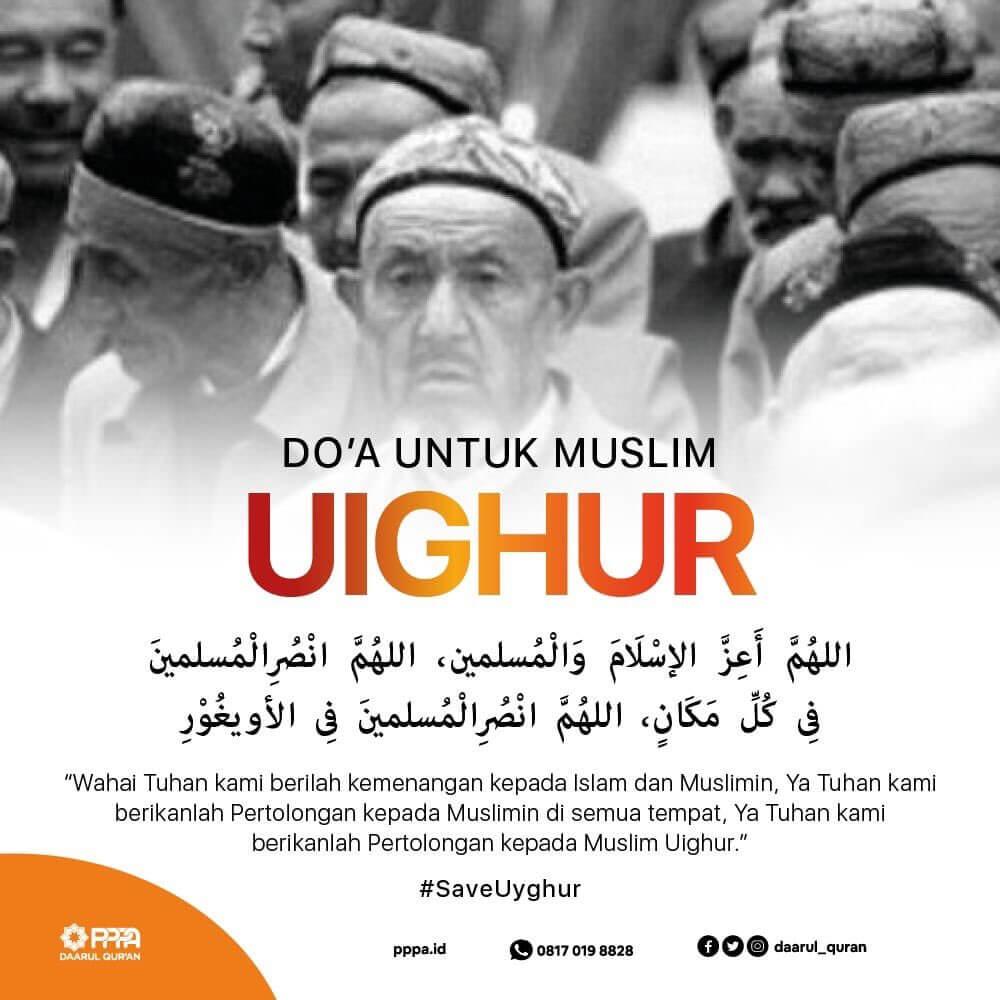 Doa Qunut Nazilah Untuk Uyghur