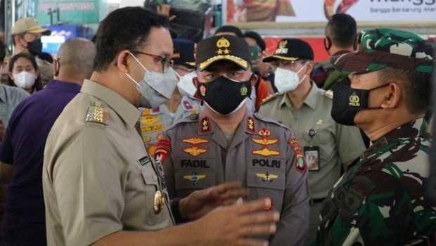 Bukan Anies, Kapolda Fadil yang Pertama Usulkan Pelanggar Prokes di Jakarta Dipidana