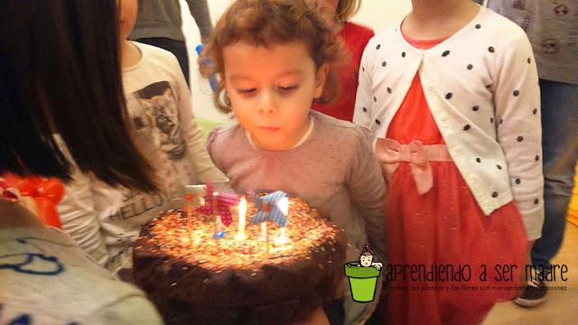 celebrar cumpleaños niña 4 años