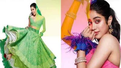 Janhvi Kapoor Bridal Photoshoot for Brides Magazine