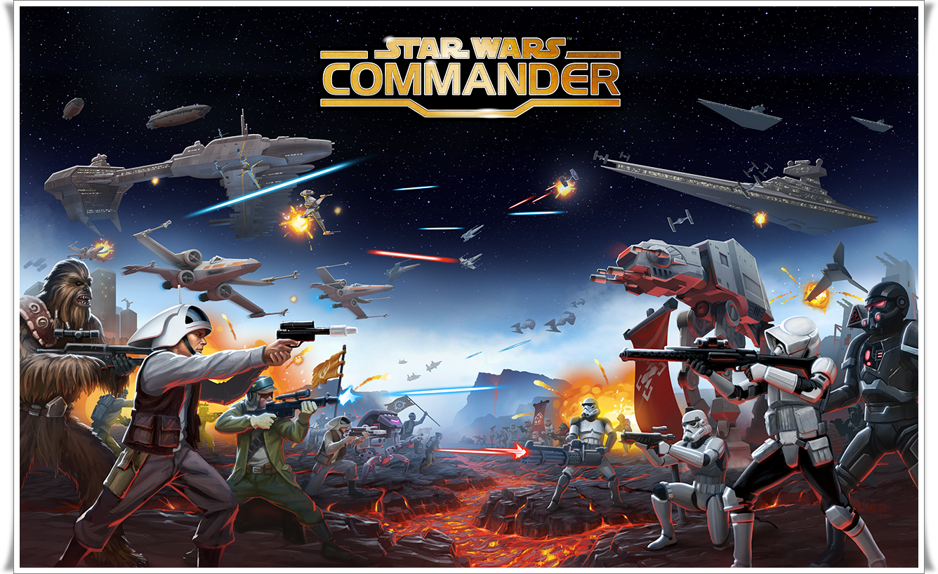 Star Wars Commander modded apk android - YouTube