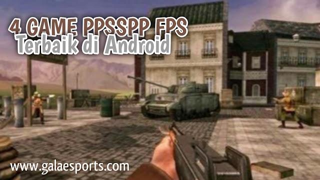 Mantap! 4 Game PPSSPP FPS Terbaik Untuk Hp Android