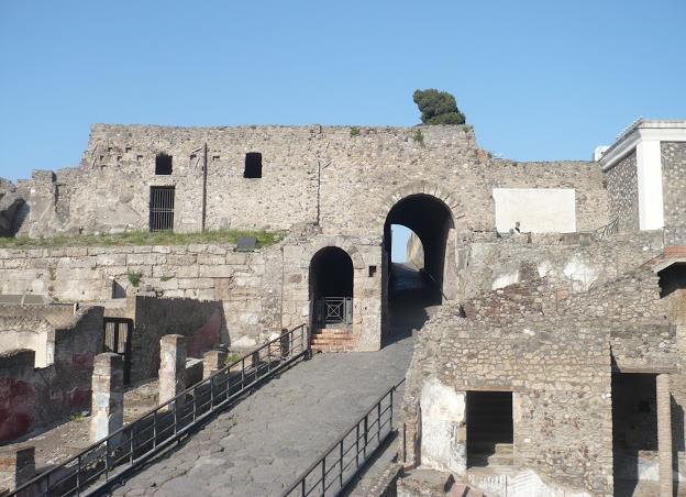 Porta Marina a Pompei