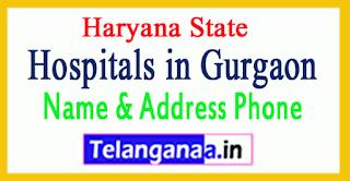 Hospitals in Gurgaon Haryana