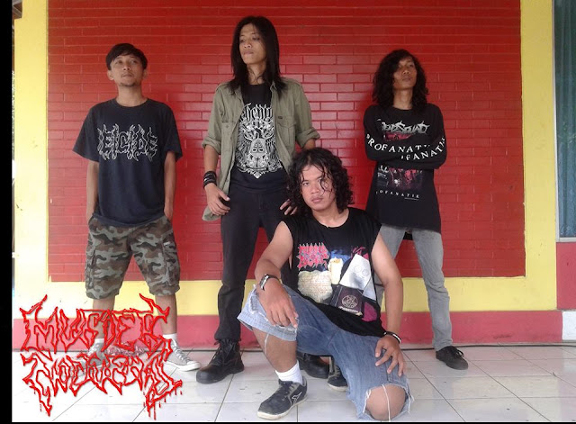 Murder Nocturnal, Death Metal Band from Indonesia, Murder Nocturnal Death Metal Band from Indonesia