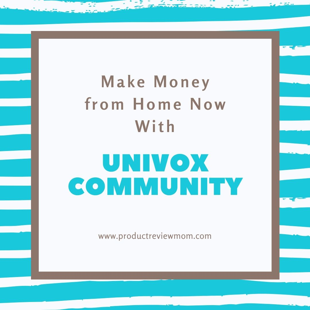 Make Money from Home Now with Univox Community