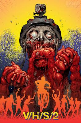 """Versione non-morta del poster di V/H/S/2  (disegno di Tony """"The Walking Dead"""" Moore"""")"""