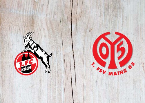 Köln vs Mainz 05 -Highlights 17 May 2020