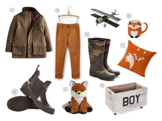 ropa de estilo inglés para niños