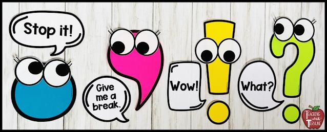 Punctuation Posters - Punctuation Pals