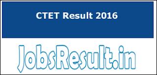 CTET Result 2016