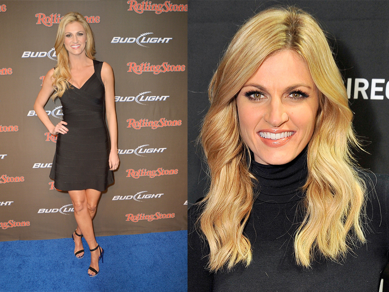 Host cantik dan Seksi Erin Andrews perfect Body Shape Host