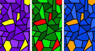 Beispiel: Komplementärfarben-Kontrast