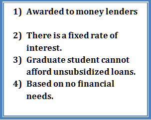 Unsubsidized Loans