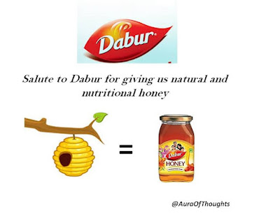 aura of thoughts - dabur honey
