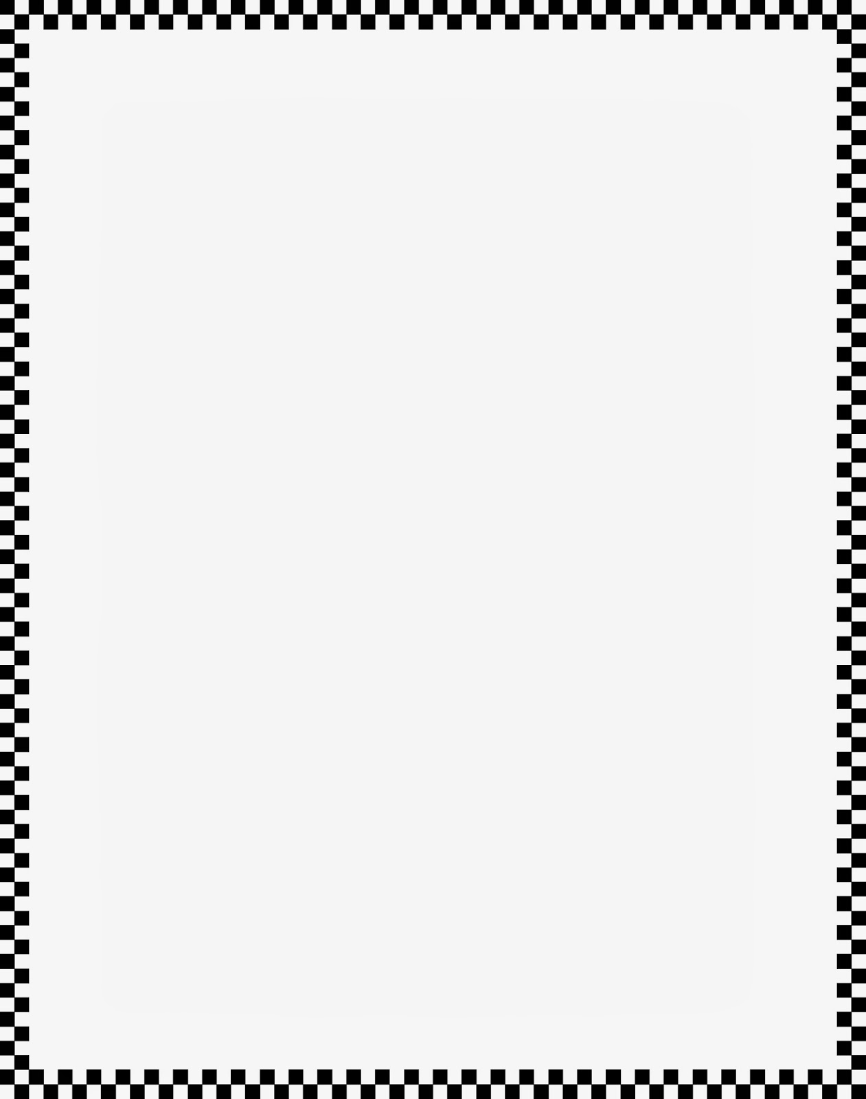 Best Collection Store Page Border Line Art Black White