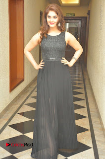 Actress Surabhi Stills in Black Long Dress at turodu Audio Launch  0081.JPG