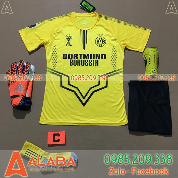 Áo Dortmund 2020 Training 2 Màu Vàng