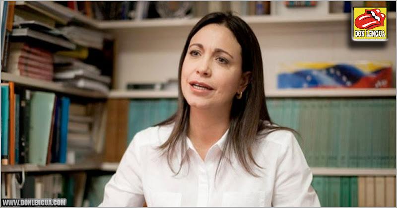 Maria Corina asegura que los que dialogan con el régimen no representan al pueblo