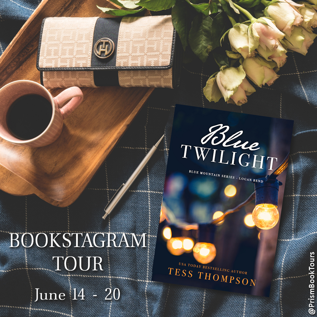 Check out the Bookstagram Tour for BLUE TWILIGHT by Tess Thompson!