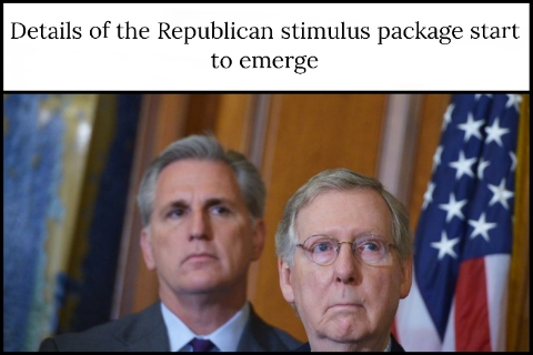 Details of the Republican stimulus package start to emerge