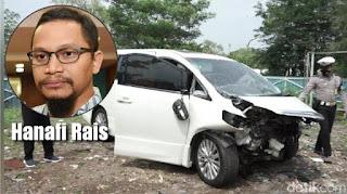 Polisi Sebut Tidak Ada CCTV di Lokasi TKP, Penabrak Mobil Hanafi Rais Masih Misterius