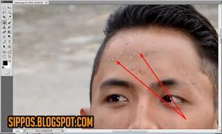 trik cara menghilangkan di photoshop