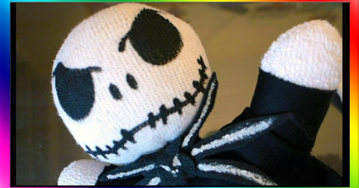 Easymeworld Diy Nightmare Before Christmas Sock Doll