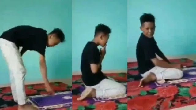 Viral Video Pelecehan Salat, Netizen: Ditunggu Video Meweknya!