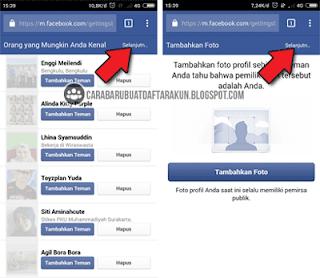 cara membuat facebook di hp