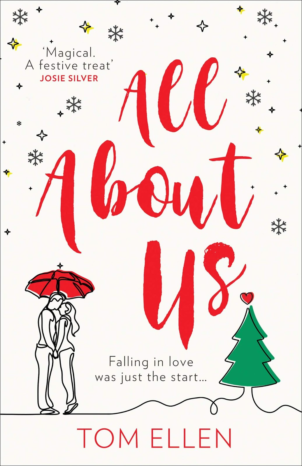 All About Us by Tom Ellen book cover
