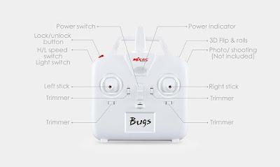 Spesifikasi Drone MJX Bugs 3 - GudangDrone