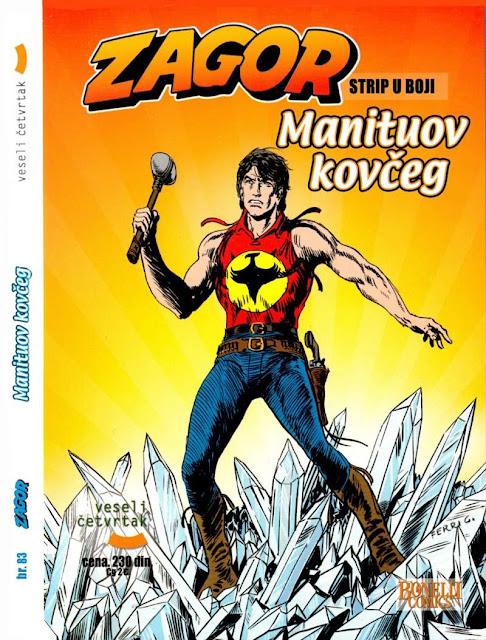 Manituov kovceg - Kolor (Veseli Cetvrtak) - Zagor