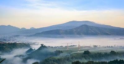 View, Mountain, Indonesia.