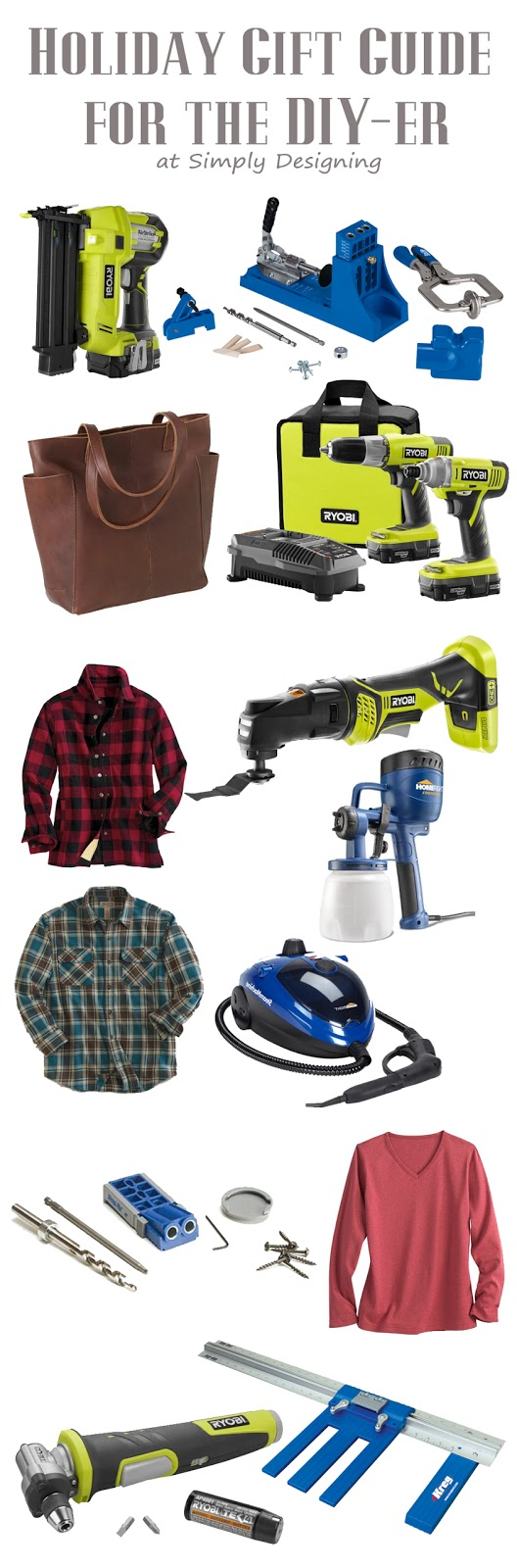 Holiday Gift Guide for the DIY-er | #giftguide #diy #christmas #holiday