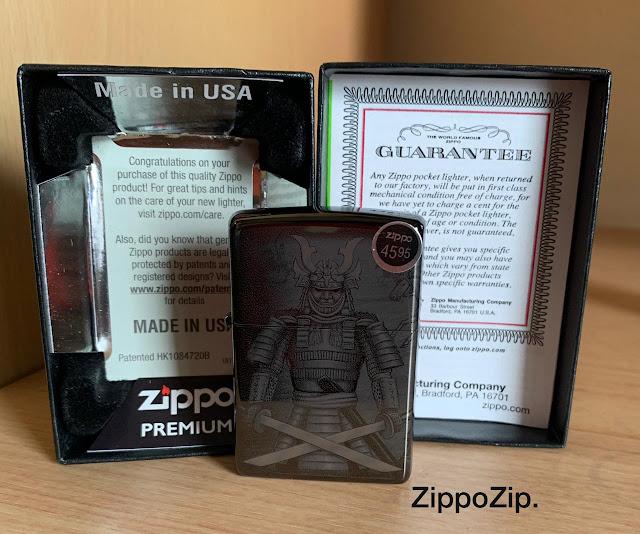 Zippo Knight Fight 49292 Original Made in USA
