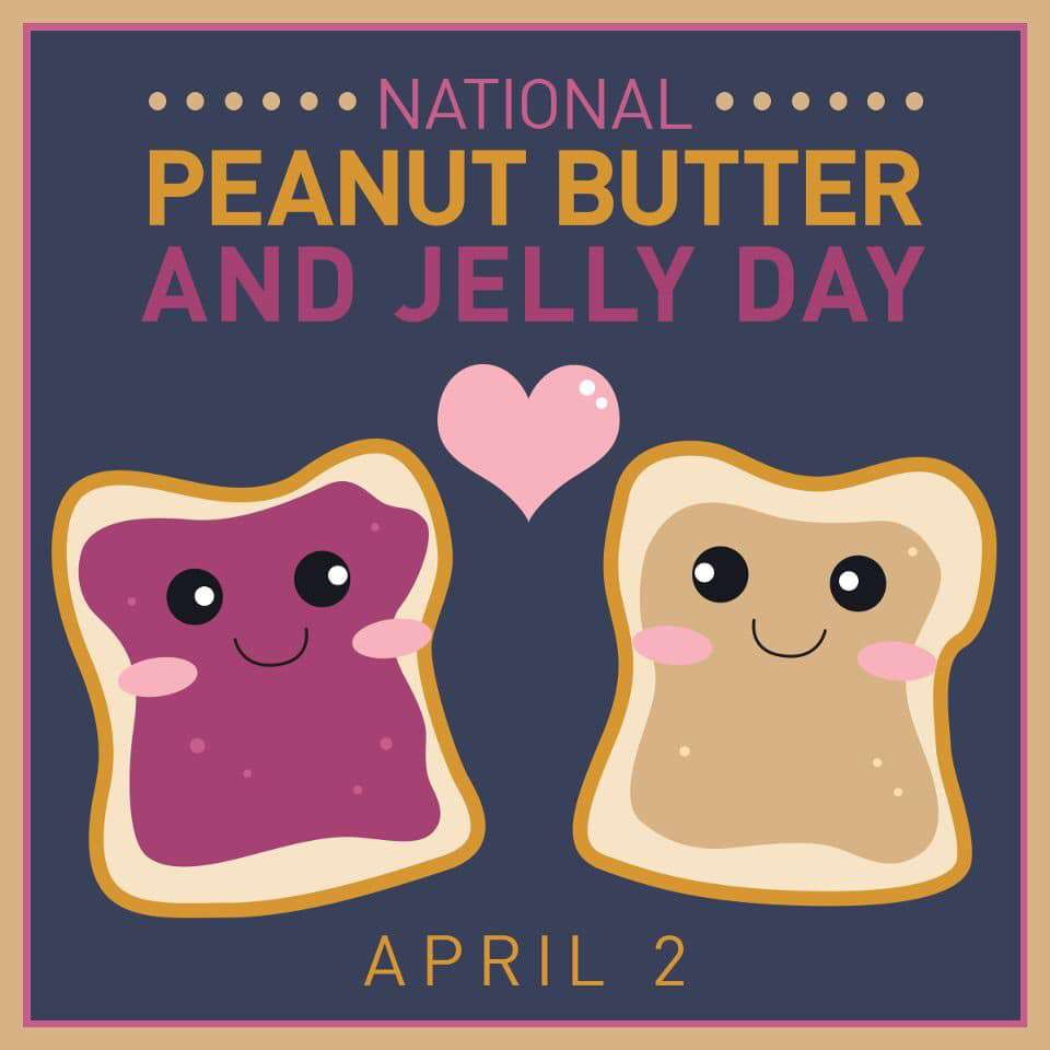 National Peanut Butter and Jelly Day Wishes for Instagram