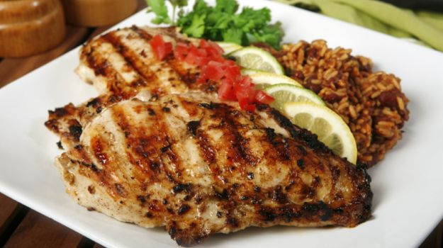 Grilled Chicken Escalope with Fresh Salsa Recipe