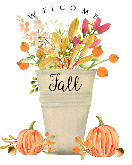 vintage distressed urn fall flowers bouquet pumpkins