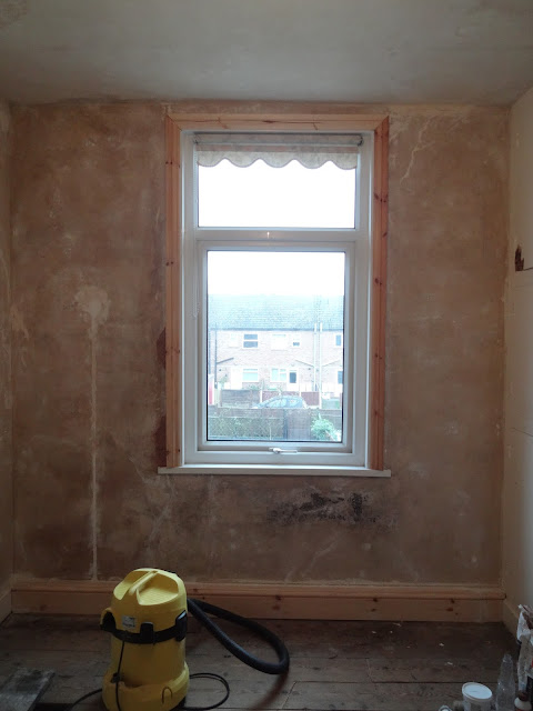 window architrave installation