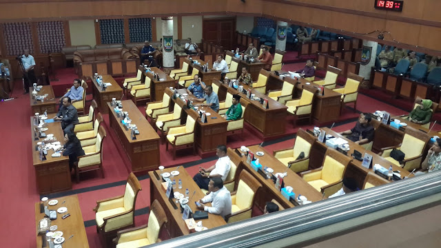 Rapat Paripurna Ke-14 Hanya Dihadiri 29 Anggota Dari 50 Anggota DPRD Batam