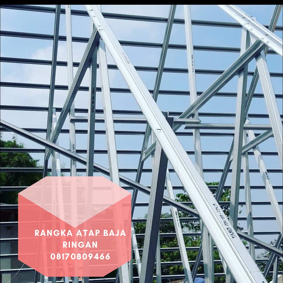 harga baja ringan cilegon steel per batang 08170809466 atap di serang