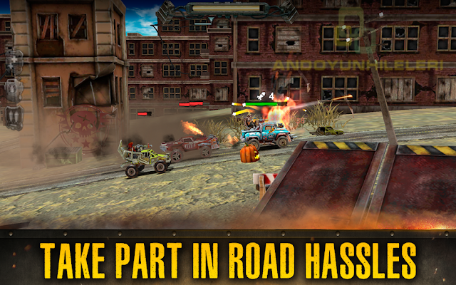 Dead Paradise Race Shooter v1.5.1 Para Hileli