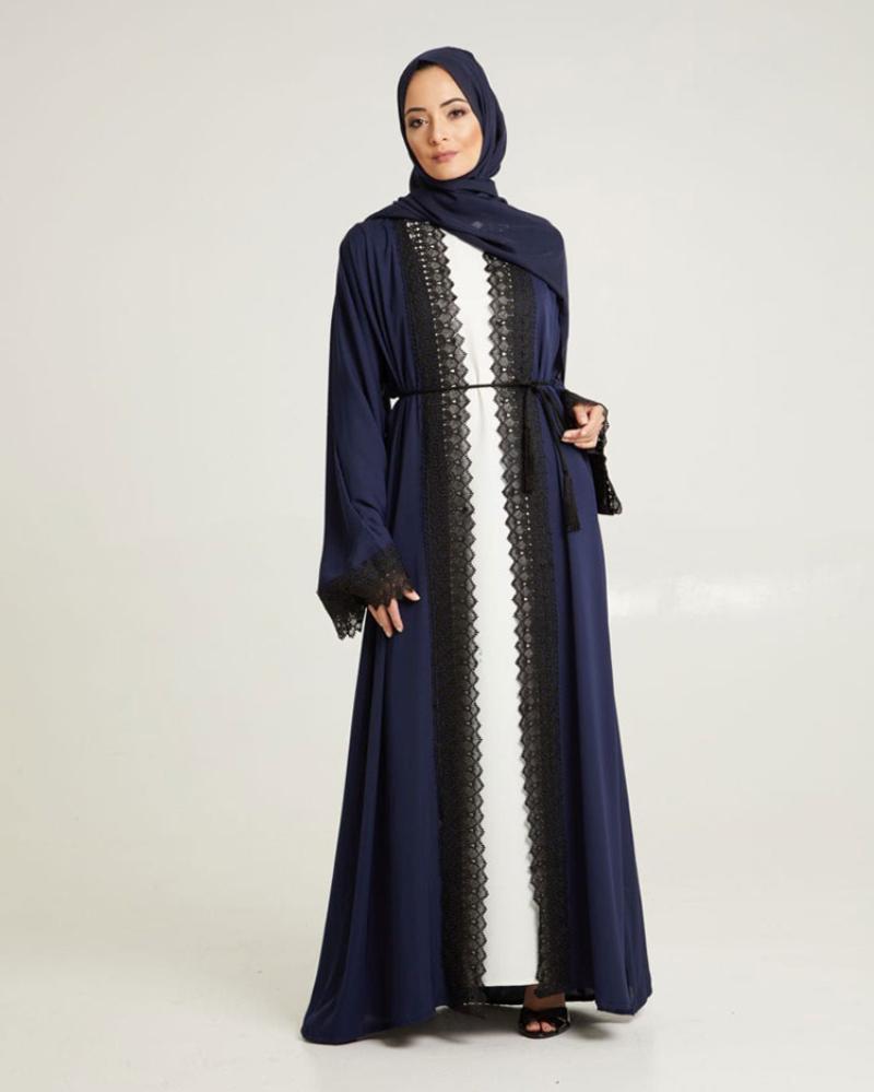 Tren Model Baju Lebaran Terbaru  model abaya berenda