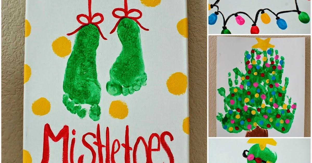 Kids Christmas Art Projects