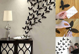 Mariposas para decorar tu pared