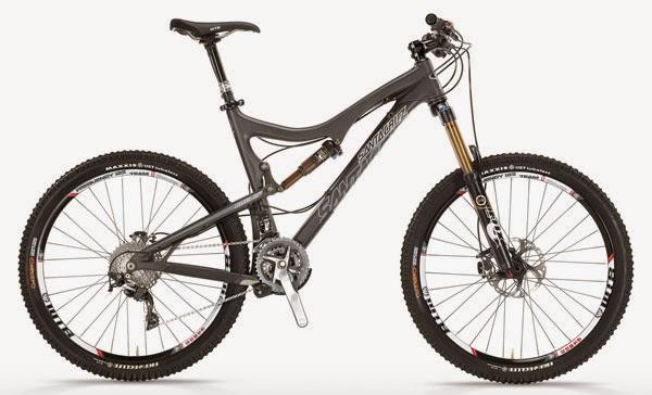 Jenis sepeda gunung MTB tipe trail