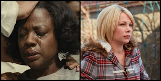 Viola Davis (Fences) y Michelle Williams (Mánchester frente al mar)