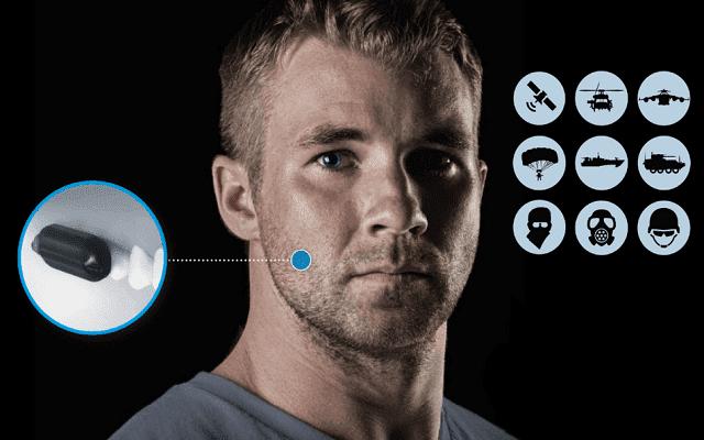 الجيش الأمريكي يمتلك أجهزة أتصال متطورة يتم زراعتها في أسنان الجنود.